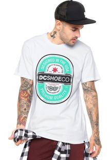 Camiseta Dc Shoes Brewster Branca