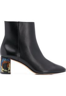 Sophia Webster Ankle Boot Toni 60 - Preto