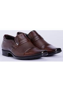 Sapato Casual Masculino Marrom/Preto