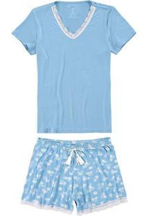 Pijama Malwee 1000069320 P/Xgg 00110-Azul
