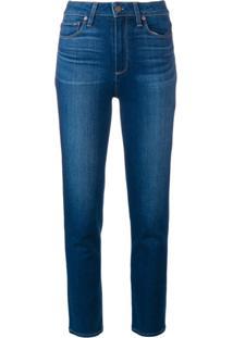 Paige Calça Jeans Hampton - Azul