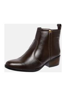 Bota Country Mega Boots Em Couro Legitimo - Cafe - 1342
