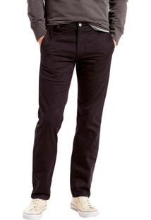 Calça Chino Levis Masculino 511 Slim Hybrid Trouser Preto Preto
