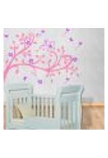 Adesivo De Parede Infantil Árvore Do Encanto Mod. 1 - Médio