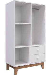 Armário Infantil Montessoriano Completa Móveis By600 Branco Se