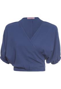 Blusa Feminina Bufante - Azul