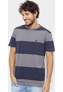 Camiseta Hang Loose Esp Blockstripe Masculina - Masculino