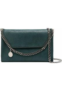 Stella Mccartney Chain-Link Detail Crossbody Bag - Verde