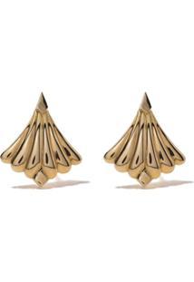 Fairfax & Roberts Par De Brincos Modèle Em Ouro 18K - Dourado