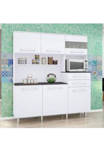 Cozinha Compacta Suprema Gold 6 Pt E 2 Gv Branco