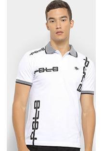 Camisa Polo Polo Rg 518 Masculino Piquet-18338 - Masculino-Branco