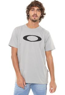 Camiseta Oakley Ellipse Cinza