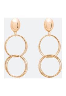 Brinco Argola Maxi Com Textura | Accessories | Dourado | U