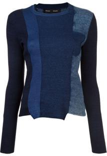 Proenza Schouler Blusa De Tricô - Azul