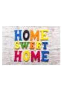 Painel Adesivo De Parede - Home Sweet Home - 693Pnp