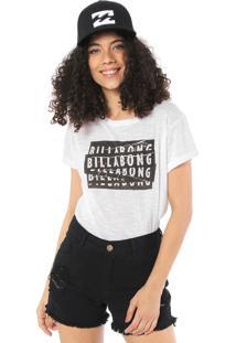 Camiseta Billabong Essencial Branca