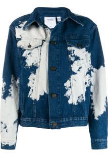 Calvin Klein Jeans Est. 1978 Jaqueta Jeans Desbotada - Azul
