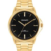 4c59ee5b65b Relógio Akium Masculino Aço Dourado - Tmg7088N1C Vivara