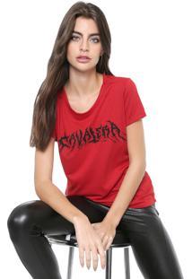 Camiseta Cavalera Logo Vermelha