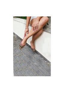 Sapatilha Multicolor Animal Print Le Scarpe Di Bruna - Tigre