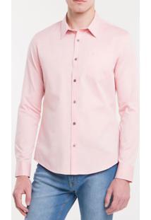 Camisa Slim Mg Longa Chambray - Papaia - 2