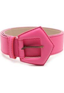 Cinto Birô Triângular Feminino - Feminino-Pink