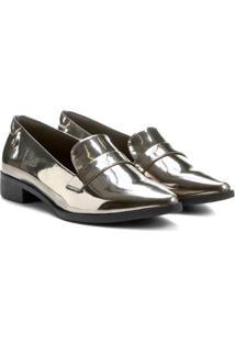 ada63c01c Mocassim Com Salto Oxford feminino | Shoelover