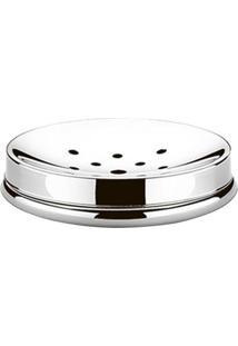 Saboneteira Para Banheiro Decorline Aço Inox 3050100 Brinox