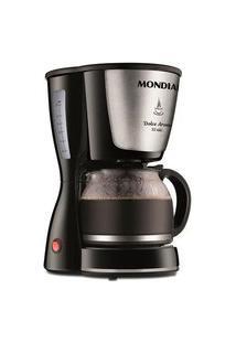 Cafeteira Elétrica Mondial Dolce Arome Inox, Até 32 Xícaras, Com Jarra Em Vidro E Indicador De Nível De Água, 127V - C-32 32X
