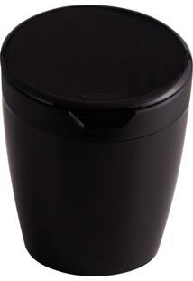 Cesto De Lixo Com Tampa 2,7 L Preto Astra