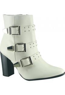 c813a57f773a5 Ankle Boot Fivela Via Marte feminina