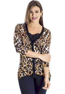 Cardigan Animal Print Winthrop