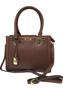 Bolsa Casual Importada Sys Fashion 8537 Marrom