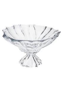 Centro De Mesa Wolff Paradise Cristal Com Pé 34X20.5Cm Transparente