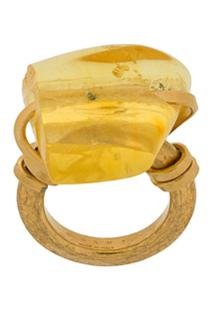 Marni Anel Com Pedra - Dourado
