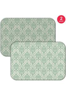 Jogo Americano Love Decor Geometric Moderm Verde