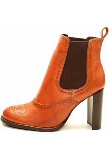 Bota The Box Project July Feminina - Feminino-Marrom
