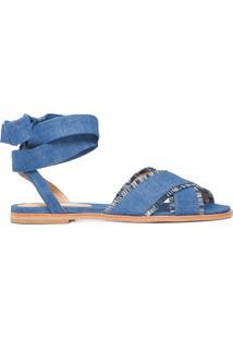 Sandália Jeans Levis - Azul