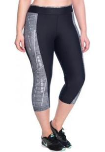 Legging Fitness Curta Urban Marcyn Plus Size - Feminino
