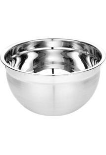Tigela Mixing Bowl Inox Escovado 26 Cm - Tigela Mixing Bowl Inox 26Cm