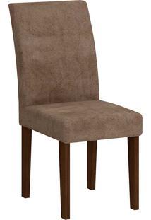 Cadeira Grécia - Rufato - Castor / Chocolate