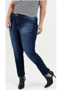 8b942e07948a52 Marisa Calça Feminina Jeans Skinny Plus Size Biotipo