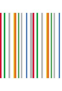 Papel De Parede Lyam Decor Paper Listra Multicolorido