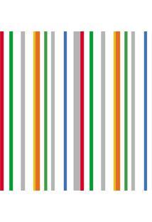 Papel De Parede Lymdecor Paper Listra Multicolorido