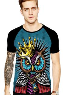 Camiseta Stompy Tattoo Rock Collection 135 Preto