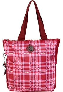 Bolsa Clio Tote Bag Rebecca Feminina - Feminino-Vermelho