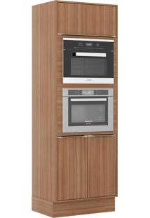 Armário De Cozinha 3 Portas P/ Embutir C/ Rodapé 5404Rmf Nogueira - Multimóveis