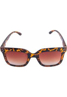 ... Óculos Marielas Quadrado Tartaruga Feminino - Feminino-Marrom 3ae323ccd9