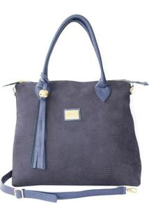 Bolsa Laceê Trisse - Feminino-Azul