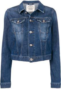 Diesel Jaqueta Jeans Slim - Azul